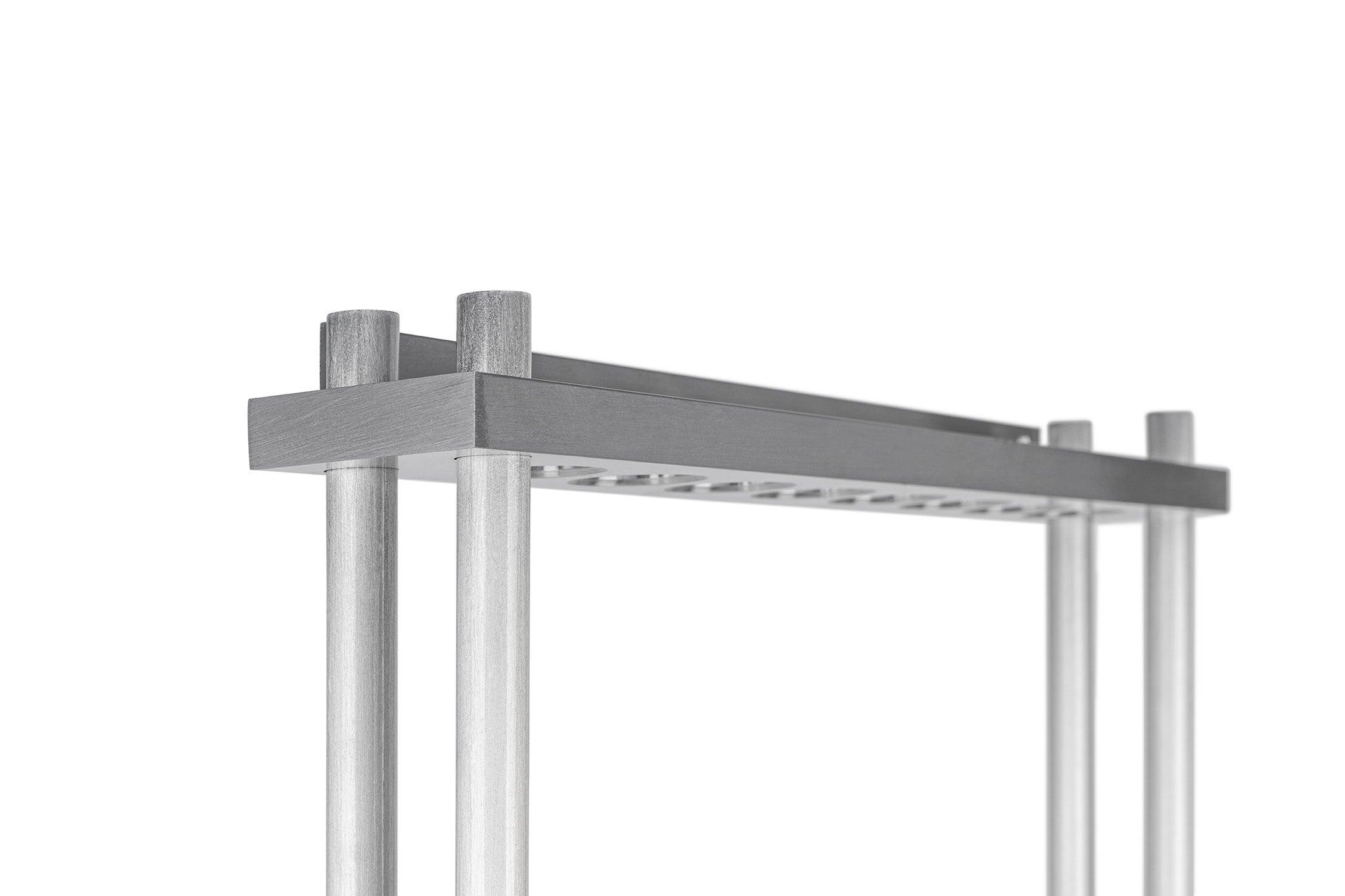 Aluminum Wall Rack #3 (Round Side Bars) - Blatt Billiards