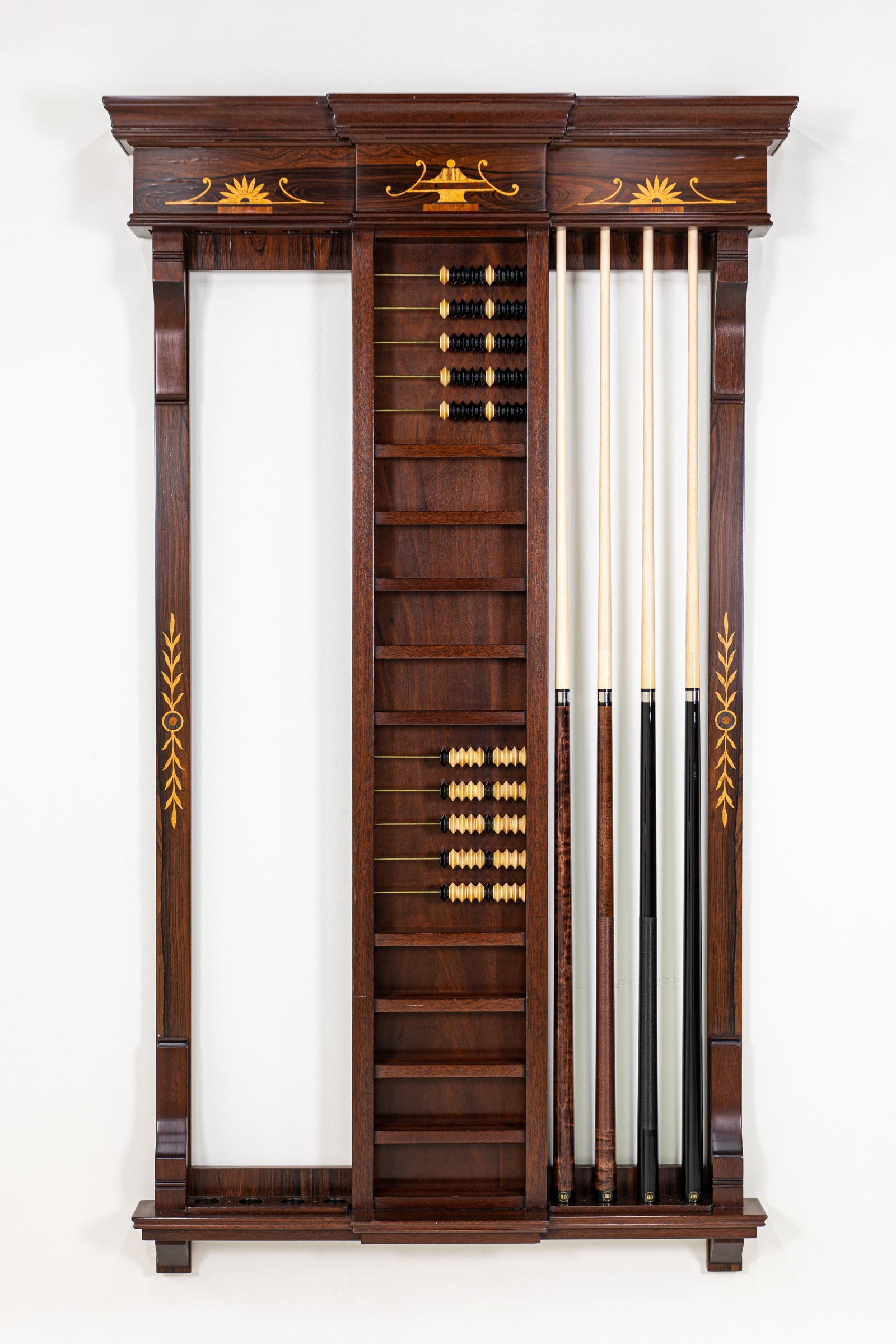 Custom Combination Wall Rack (Variable Designs) - Blatt Billiards