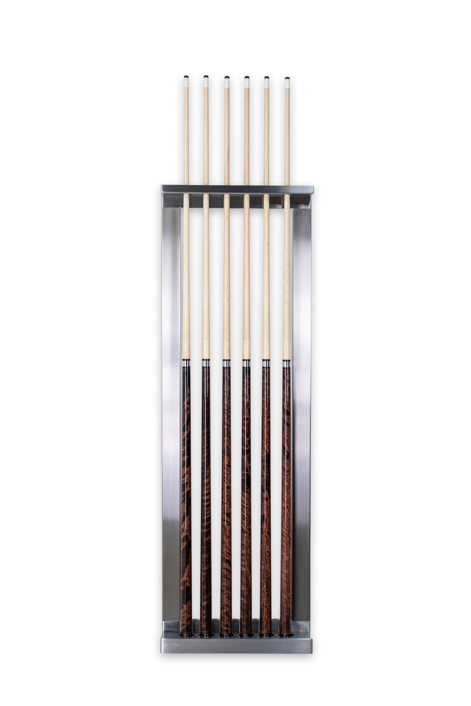 Stainless Pace Wall Rack - Blatt Billiards