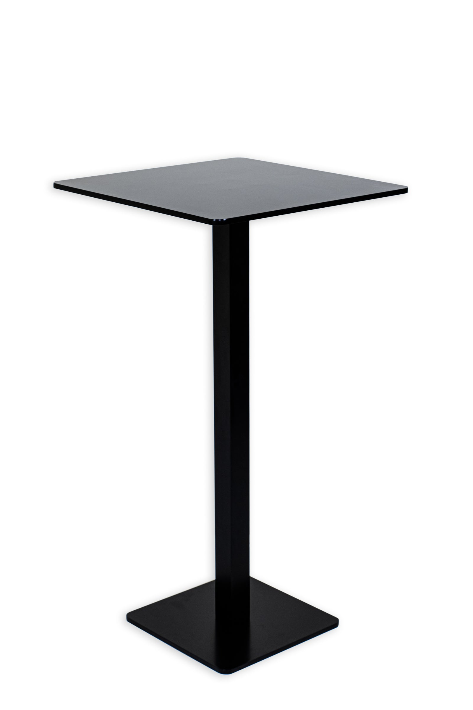 Squared Aluminum Pub Table - Blatt Billiards