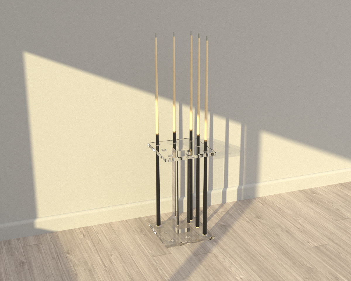Fine Acrylic Floor Rack - Blatt Billiards