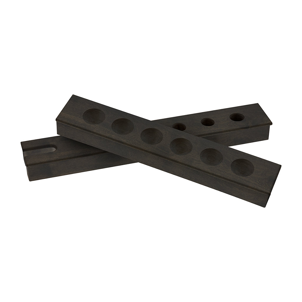 CB Two Piece Wall Rack - Blatt Billiards