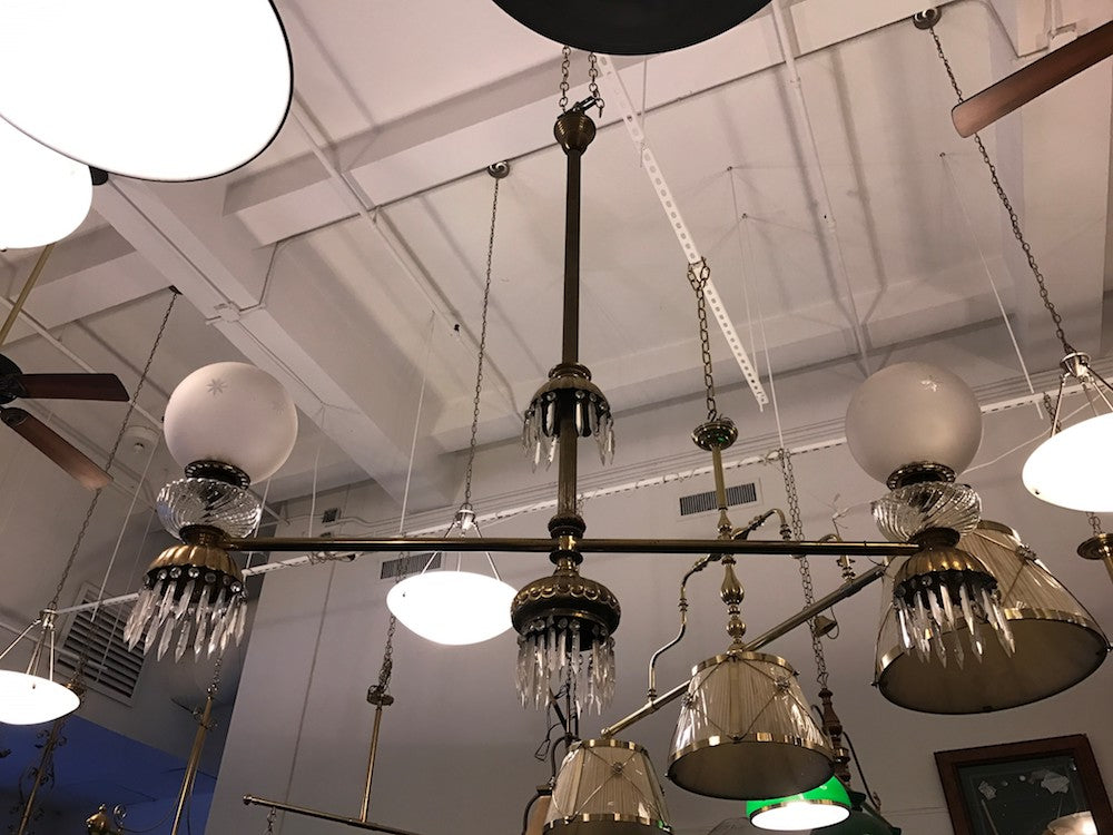 ANTIQUE LIGHT (CIRCA LATE 1800'S) - Blatt Billiards