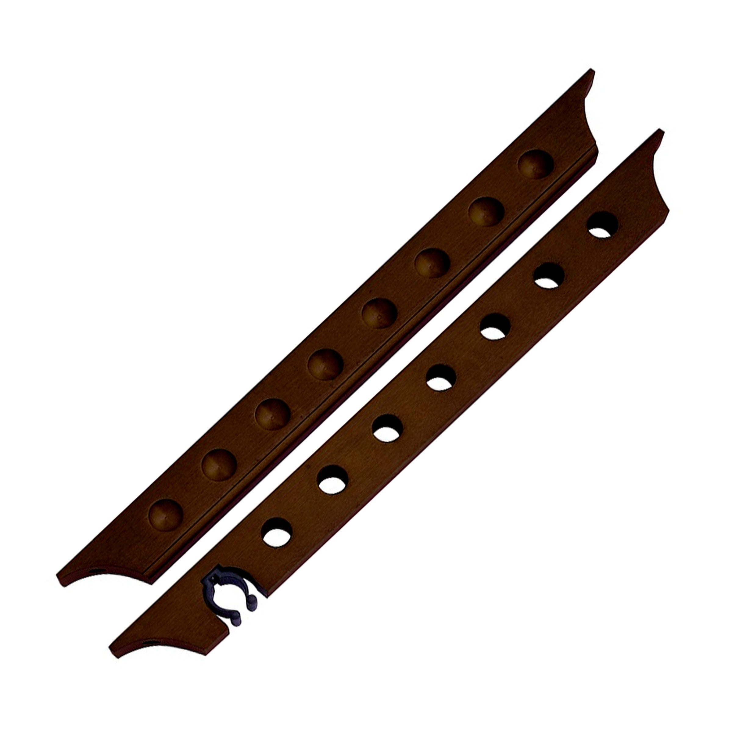 Imperious Two Piece Wall Rack - Blatt Billiards