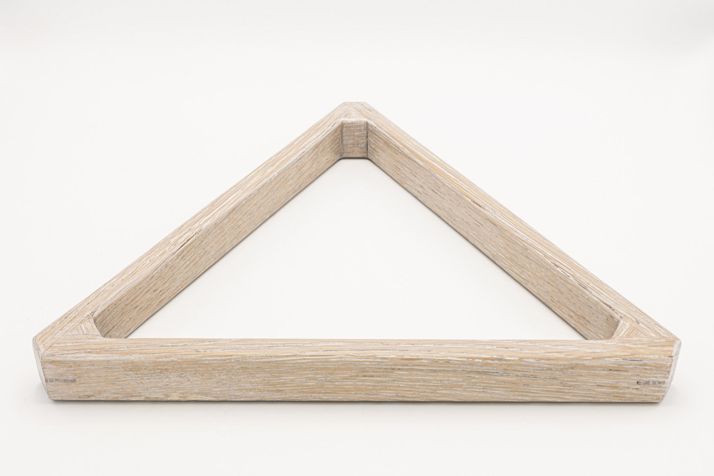 Custom Oak Triangle Rack - Blatt Billiards