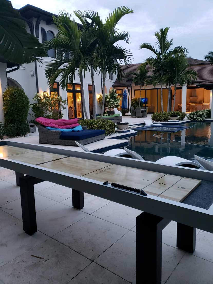 Brickell Shuffleboard (indoor/outdoor) - Blatt Billiards