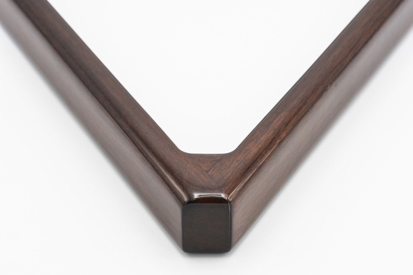 Custom Mahogany Triangle Rack - Blatt Billiards