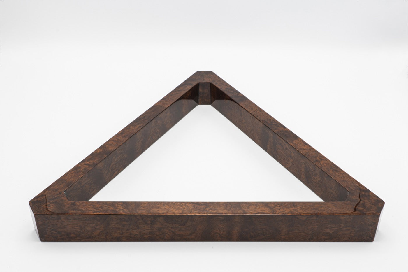 Custom Bubinga Triangle Rack - Blatt Billiards