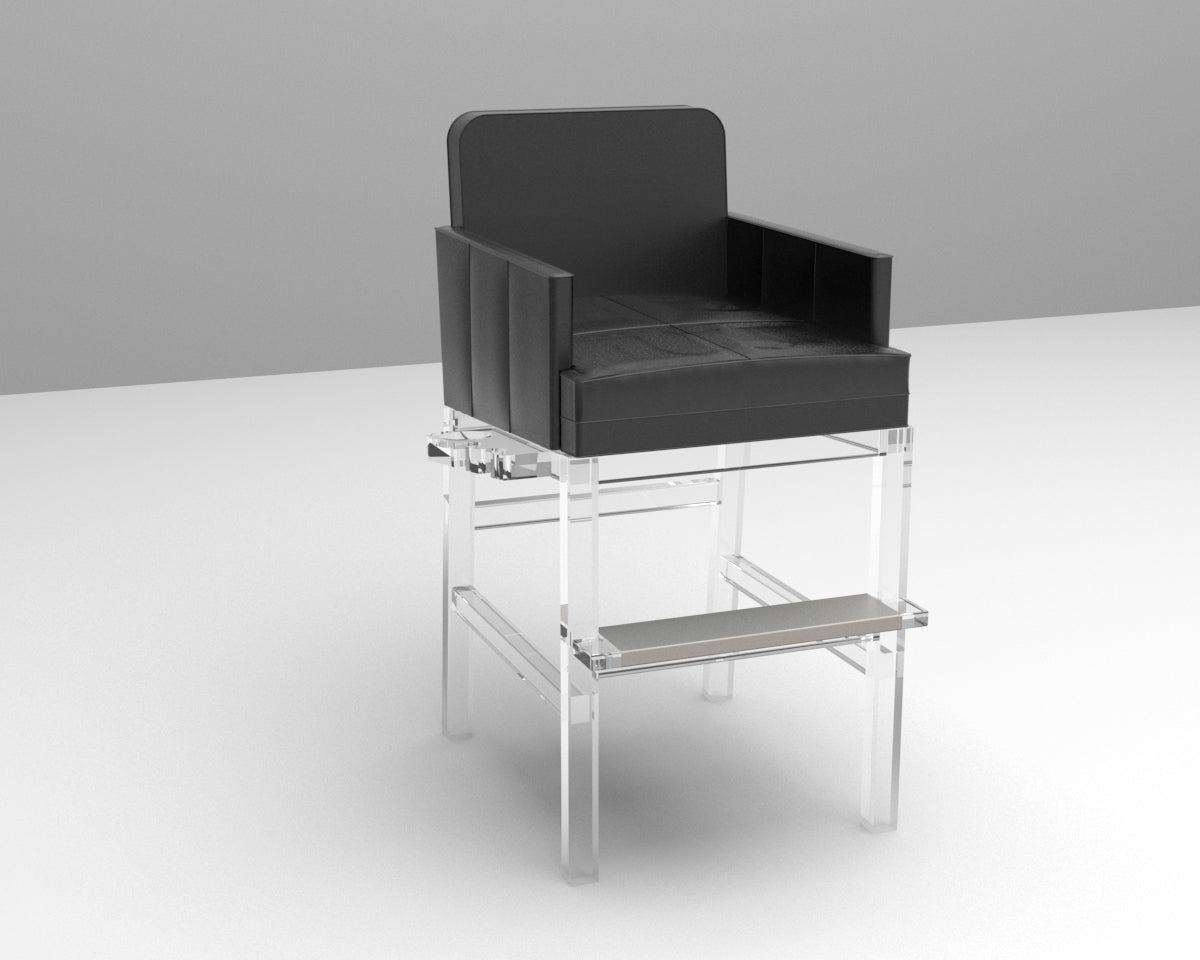 The Acrylic Billiards Spectator Chair - Blatt Billiards