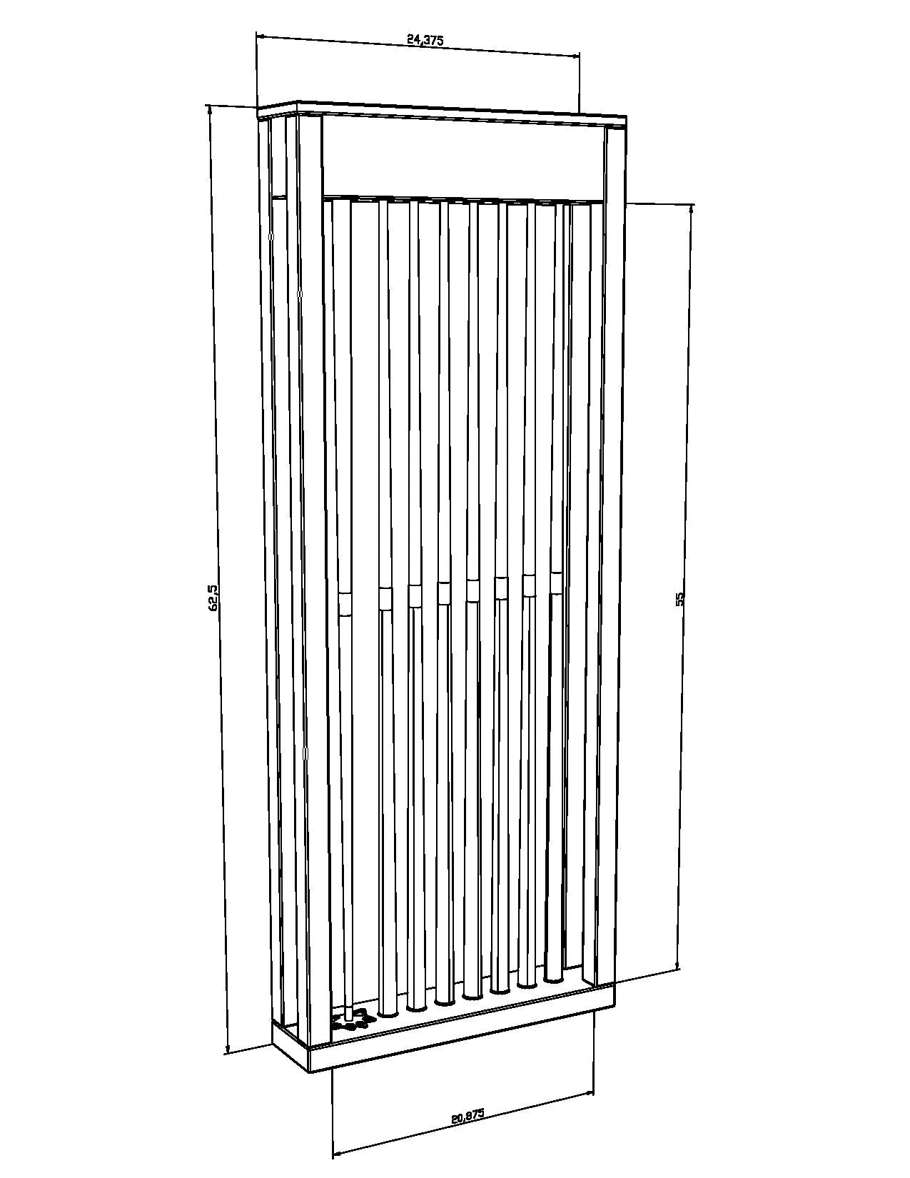 Parsons Wall Rack