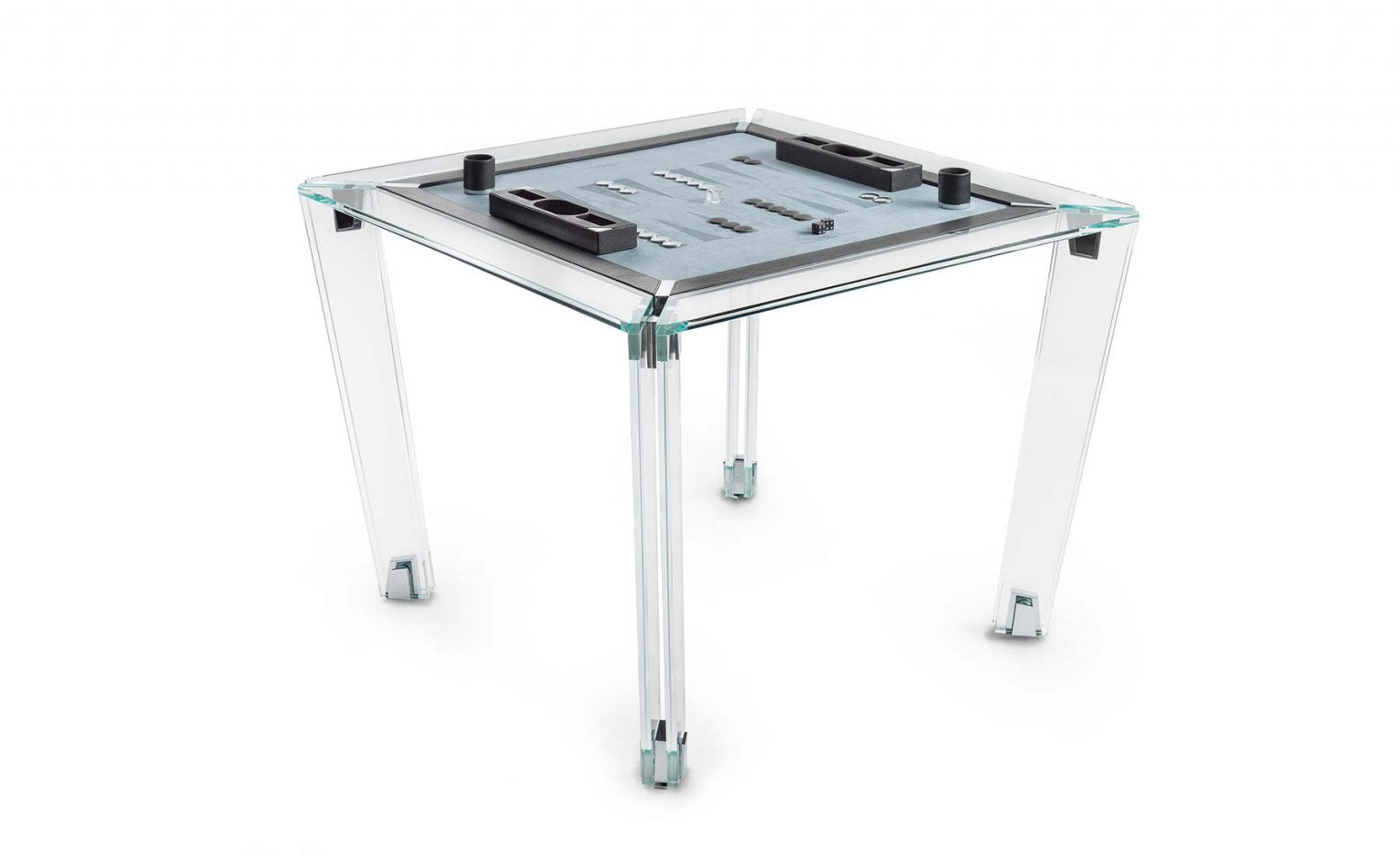 Tuttuno Crystal Backgammon/Mahjong Table - Blatt Billiards