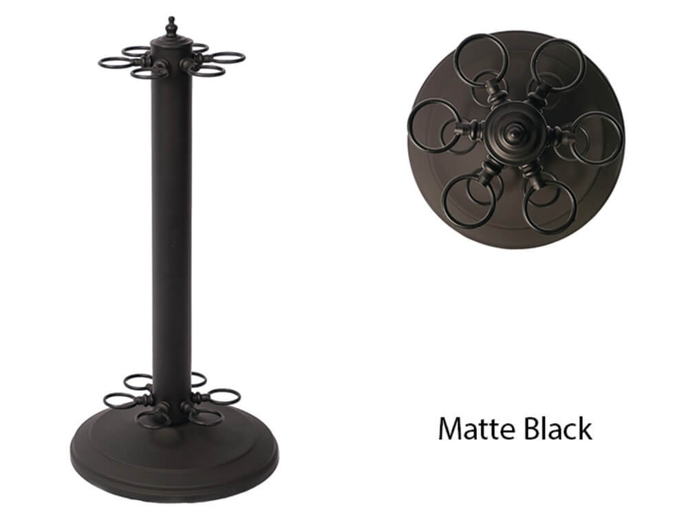 Round Metal Floor Rack - Blatt Billiards