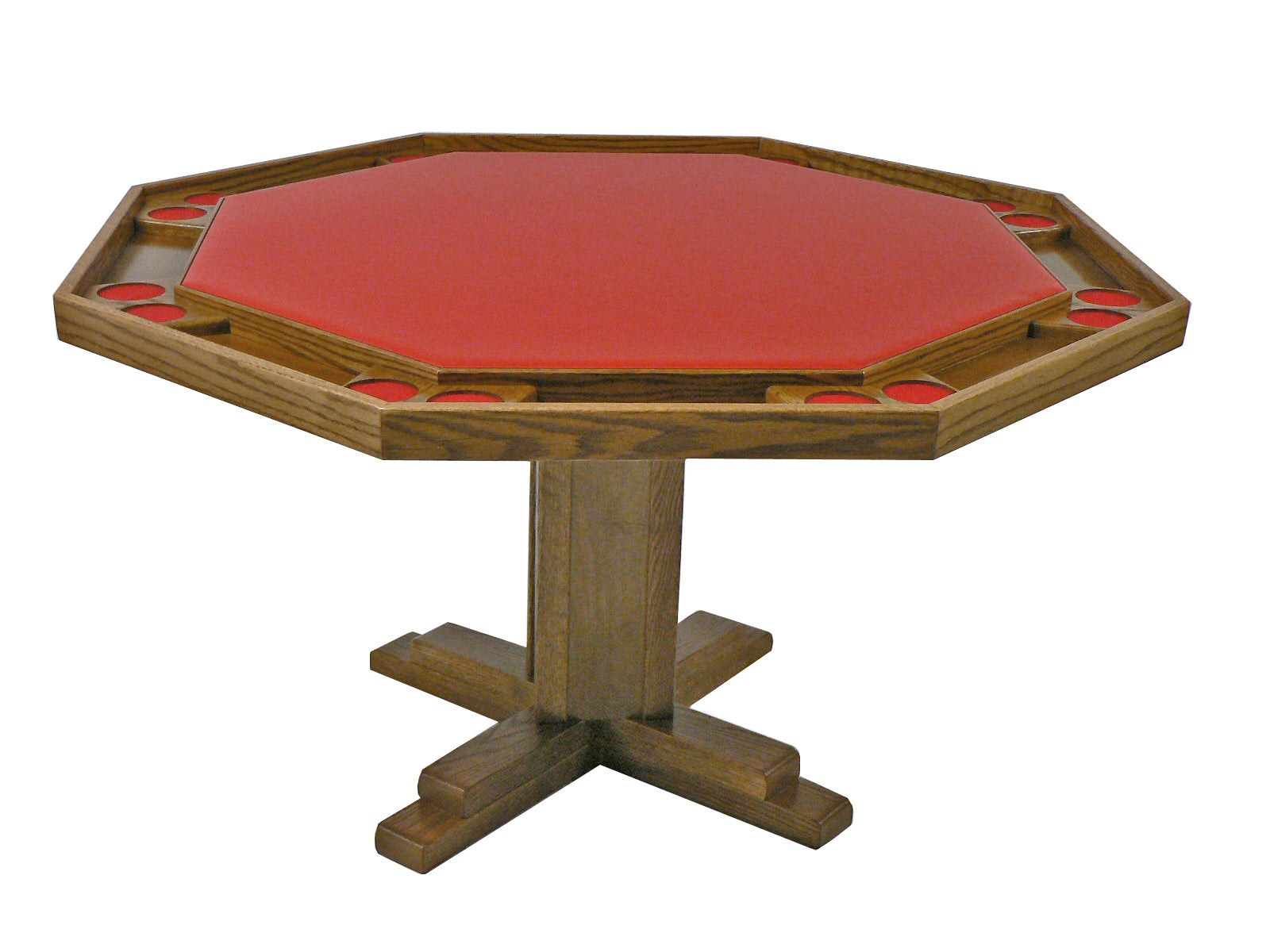 Wisco Pedestal Poker Table