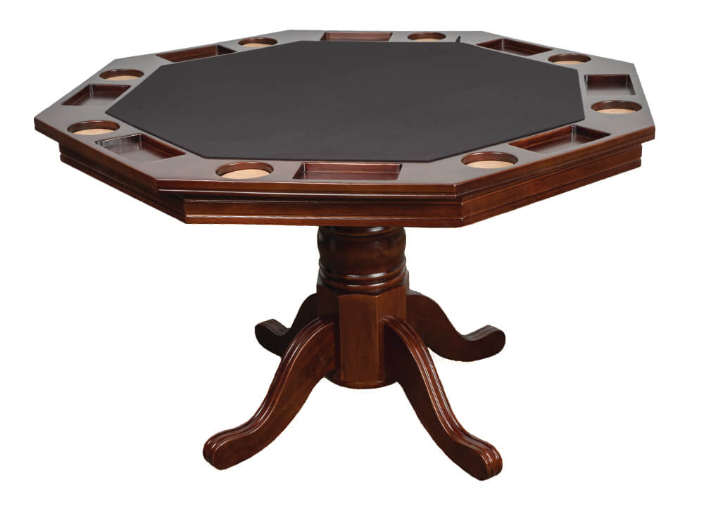 Octagonal Poker Table - Blatt Billiards