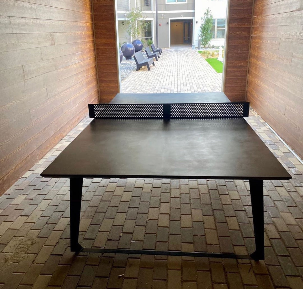 Shadow Concrete Ping Pong (indoor/outdoor)