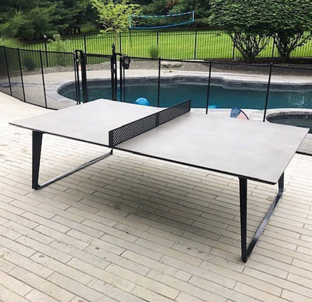 Shadow Concrete Ping Pong (indoor/outdoor) - Blatt Billiards