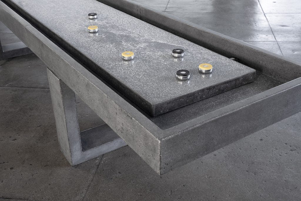 Concrete Shuffleboard Table - Blatt Billiards