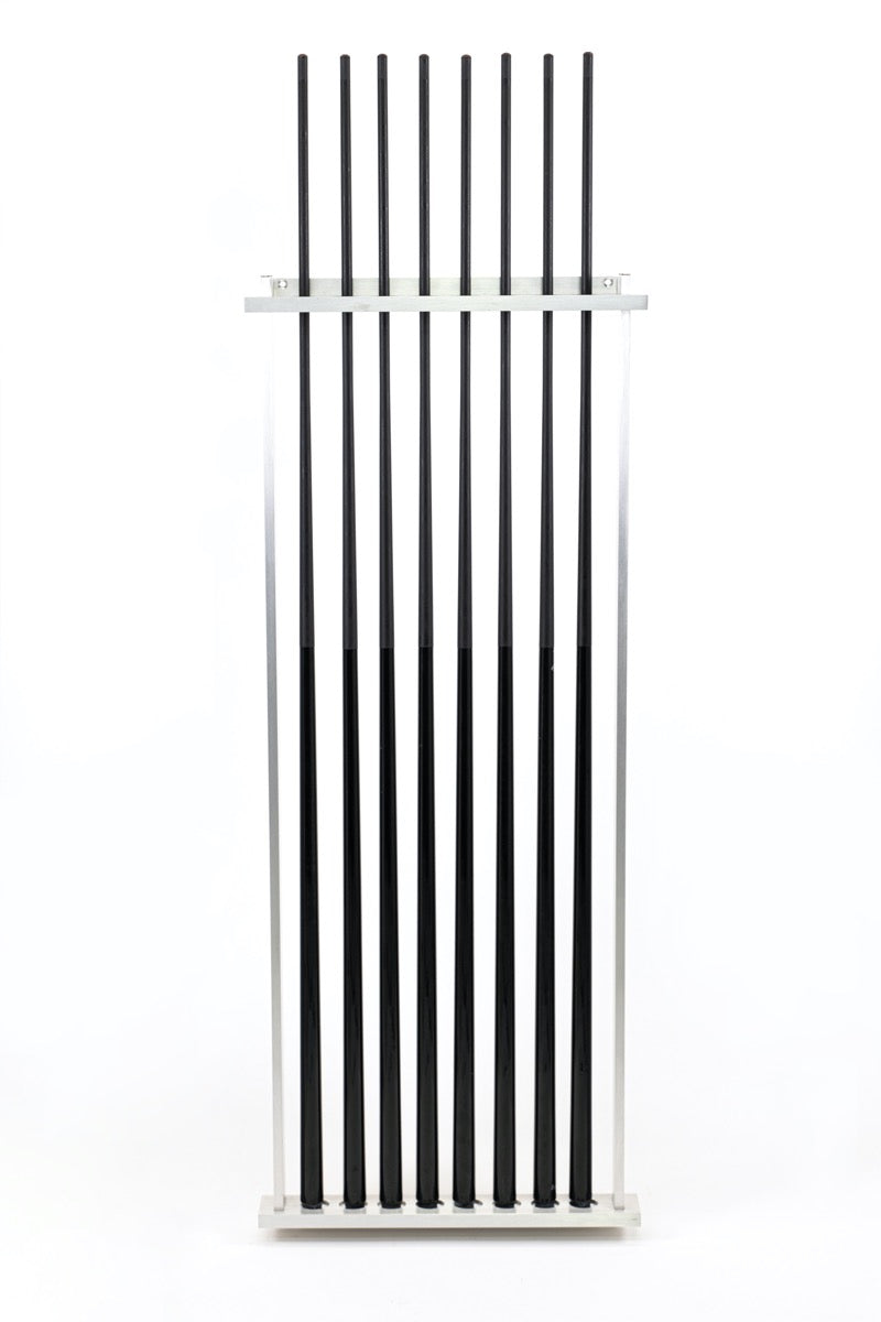 Aluminum Wall Rack #4 (squared side bars) - Blatt Billiards
