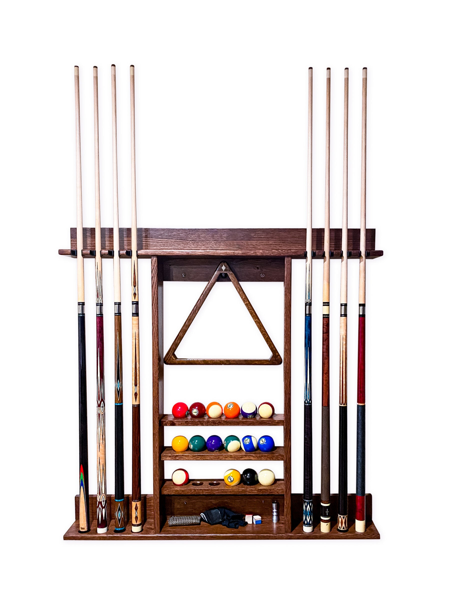 Downtown Combination Wall Rack