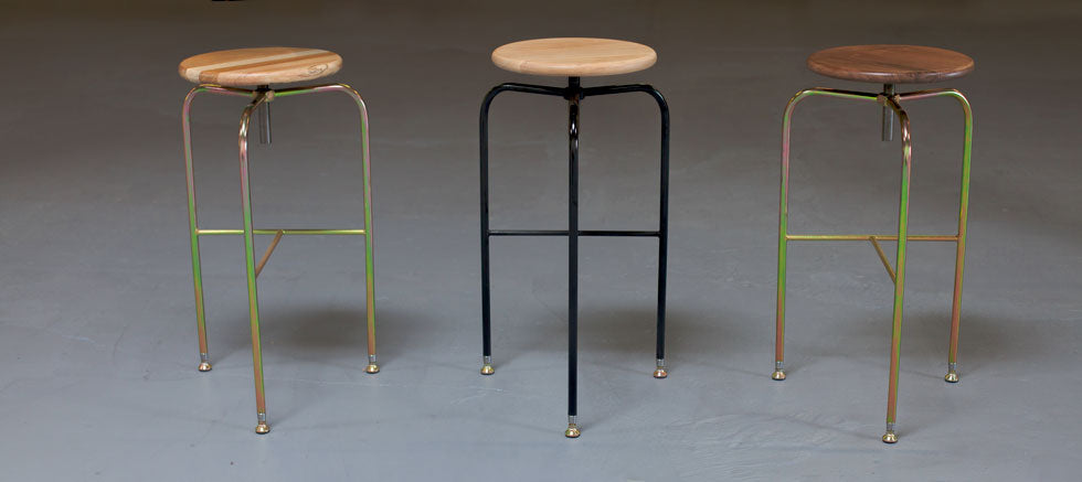 Industrial Bar Stool - Blatt Billiards