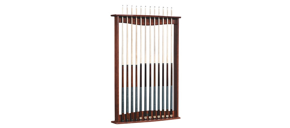 Gold Crown Wall Rack - Blatt Billiards