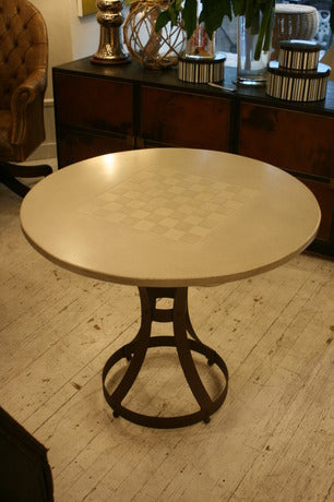 Concrete Chess Table - Blatt Billiards