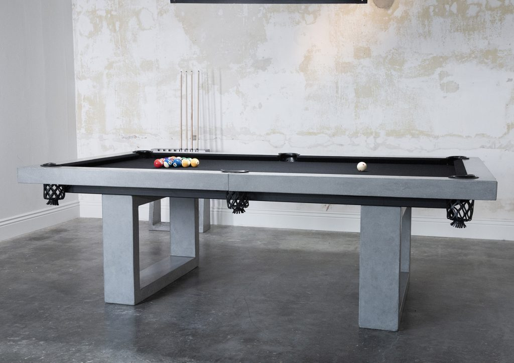 Concrete Cue Rack - Blatt Billiards