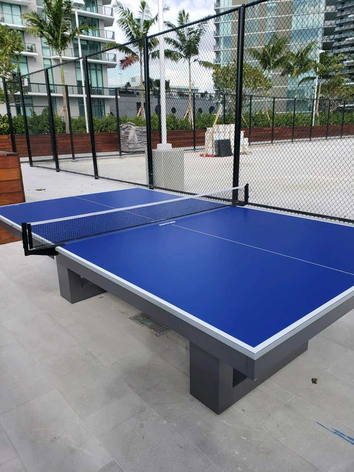 Outdoor Table Tennis Conversion Top (Pool Table Topper) - Blatt Billiards