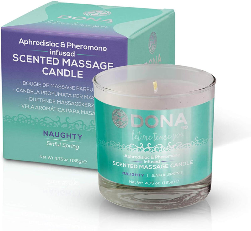 Dona Scented Massage Candle with Sinful Spring Aroma - Magic Men Australia, Dona Scented Massage Candle with Sinful Spring Aroma, BATH AND BODY