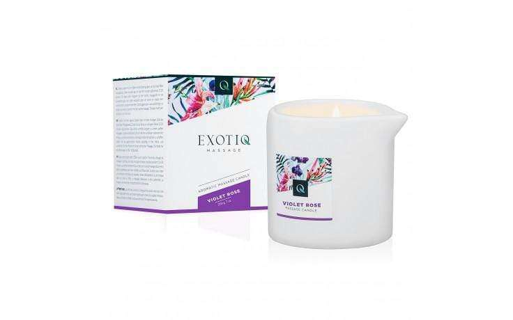 Exotiq Massage Candle Violet Rose - Magic Men Australia, Exotiq Massage Candle Violet Rose, Candles