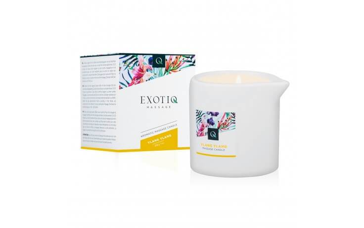 Exotiq Massage Candle with Ylang Ylang Scent - Magic Men Australia