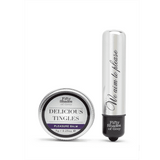 Fifty Shades Delicious Tingles Silver - Magic Men Australia