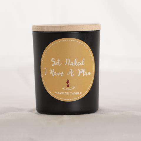 Massage Candle - Get Naked - I Have A Plan 135g