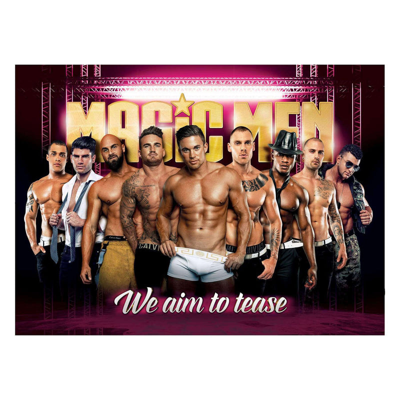 Magic Men A1 Wall Poster - Magic Men Australia
