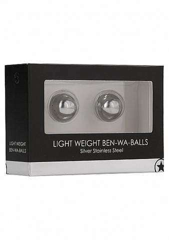 Light Weight Ben-Wa-Balls - Silver - Magic Men Australia, Light Weight Ben-Wa-Balls - Silver, Kegel Balls