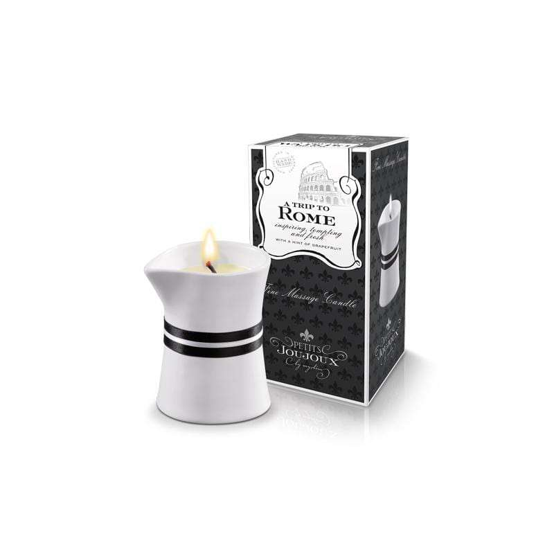Petits Joujoux A Trip to Rome Massage Candle 120ml - Magic Men Australia, Petits Joujoux A Trip to Rome Massage Candle 120ml, Candles