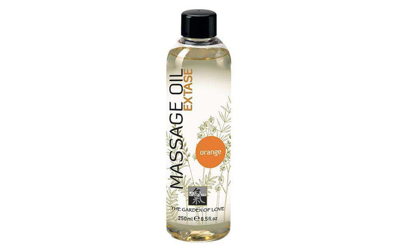 Shiatsu Massage Oil Orange 250ml - Magic Men Australia