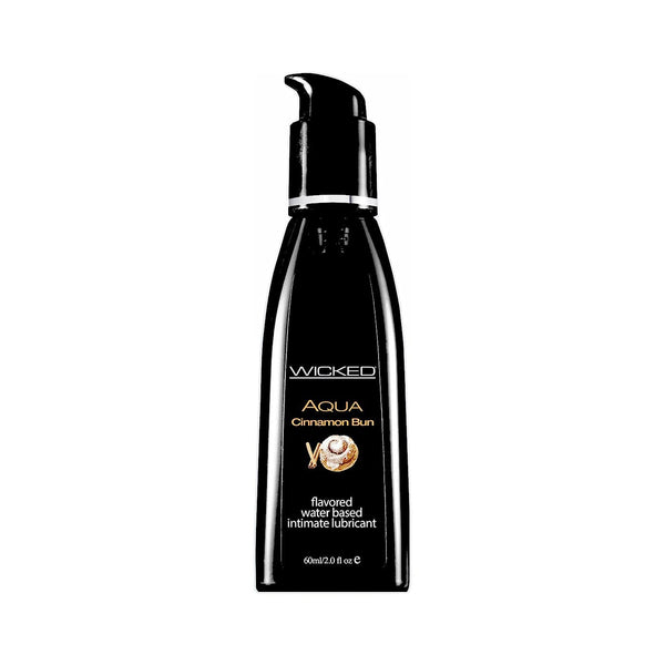 Wicked Aqua Cinnamon Bun Lubricant - Magic Men Australia