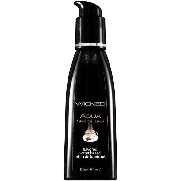 Wicked Aqua Mocha Java Lubricant - Magic Men Australia