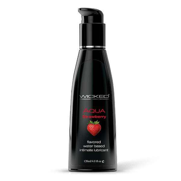 Wicked Aqua Strawberry Lubricant - Magic Men Australia