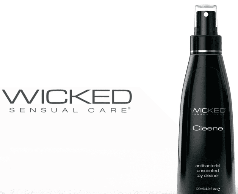 Wicked Cleene - Sex Toy Cleaner - Magic Men Australia; sex toy cleaners; toy cleaners; antibacterial sex toy cleaner; best sex toy cleaner; organic sex toy cleaner; how to use sex toy cleaner