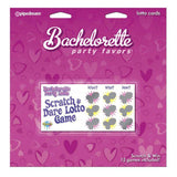 Bachelorette Party Favours - Lotto Cards - Magic Men Australia, Bachelorette Party Favours - Lotto Cards, Hens Party Supplies