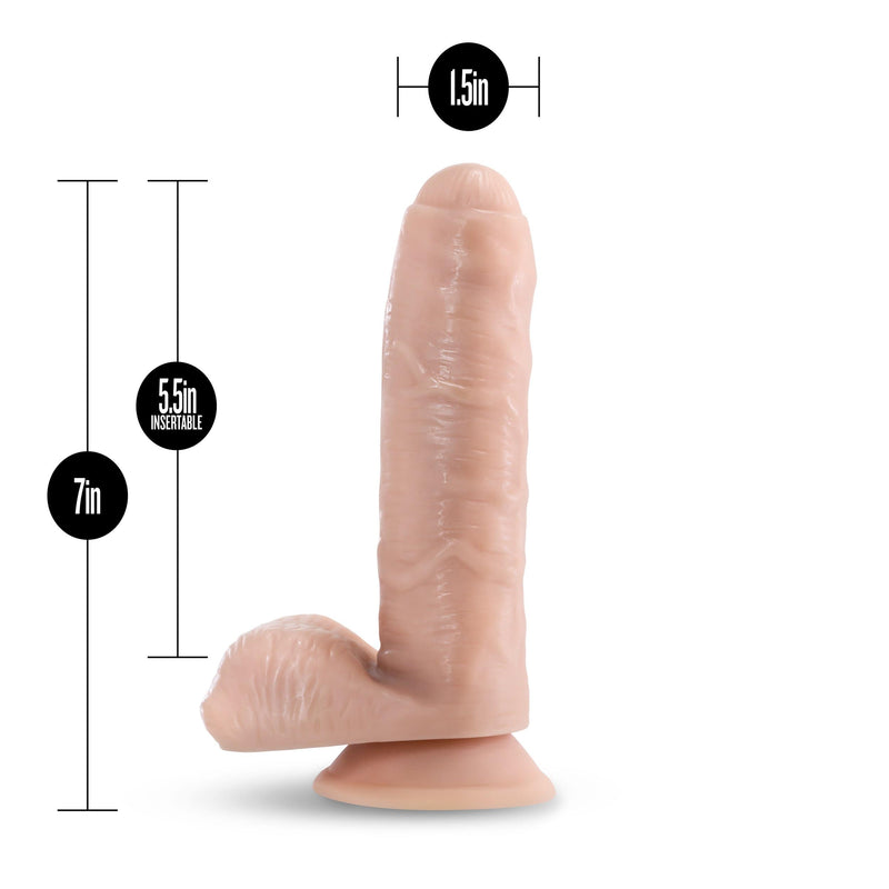 "Loverboy Tony The Waiter Dildo 7"" Realistic Cock - Vanilla - Magic Men Australia, Loverboy Tony The Waiter Dildo 7"" Realistic Cock - Vanilla, Dildos"
