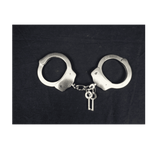 Heavy Duty Nickel Hand Cuffs - Magic Men Australia, Heavy Duty Nickel Hand Cuffs, Handcuffs
