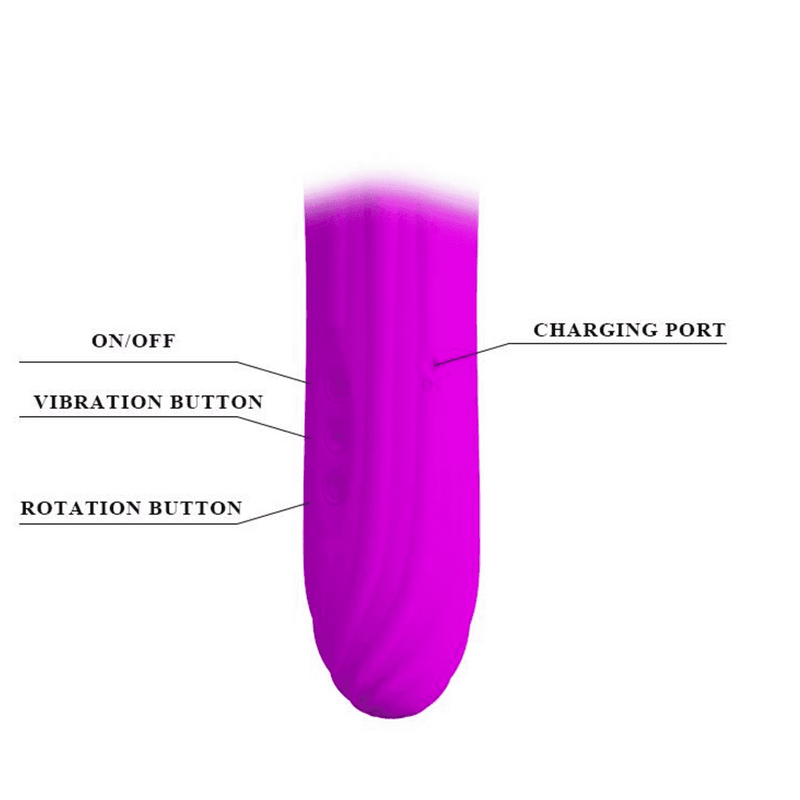 "Rabbit Deluxe ""Abbot"" Purple - Magic Men Australia, Rabbit Deluxe ""Abbot"" Purple, G Spot Vibrators"