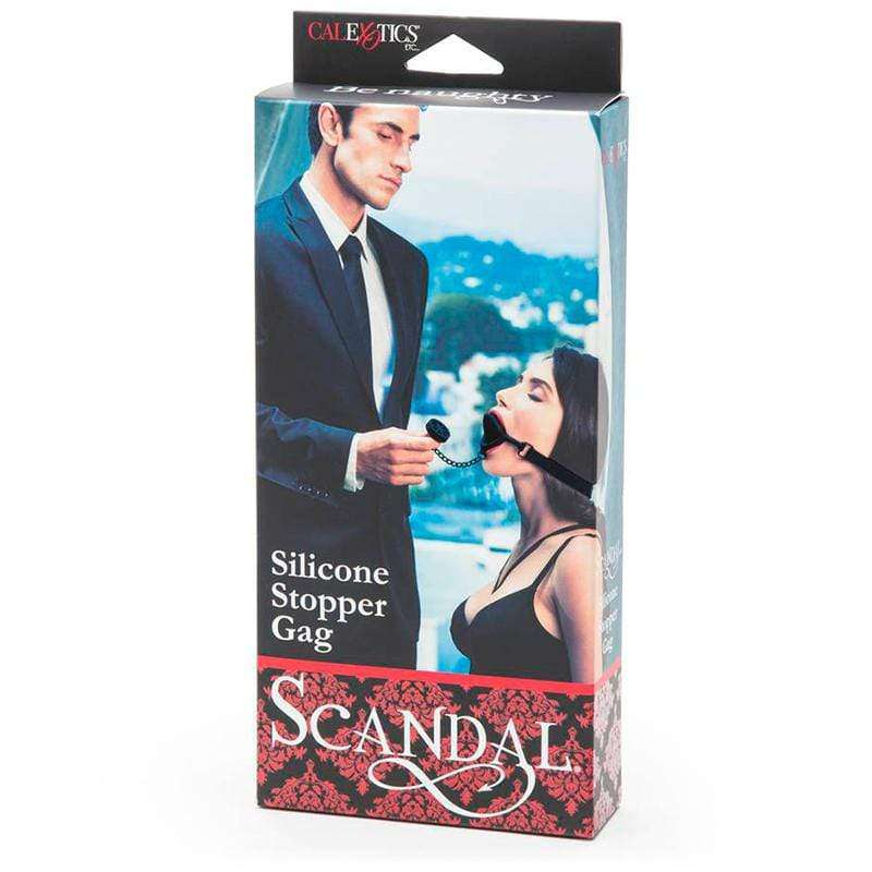 Scandal Silicone Stopper Gag - Magic Men Australia