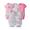 Gerber Girls 5-pk Onesies set, Elephant