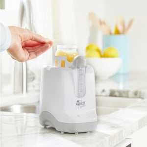 The First Years 2-in-1 Simple Serve Bottle Warmer & Pacifier Sanitizer