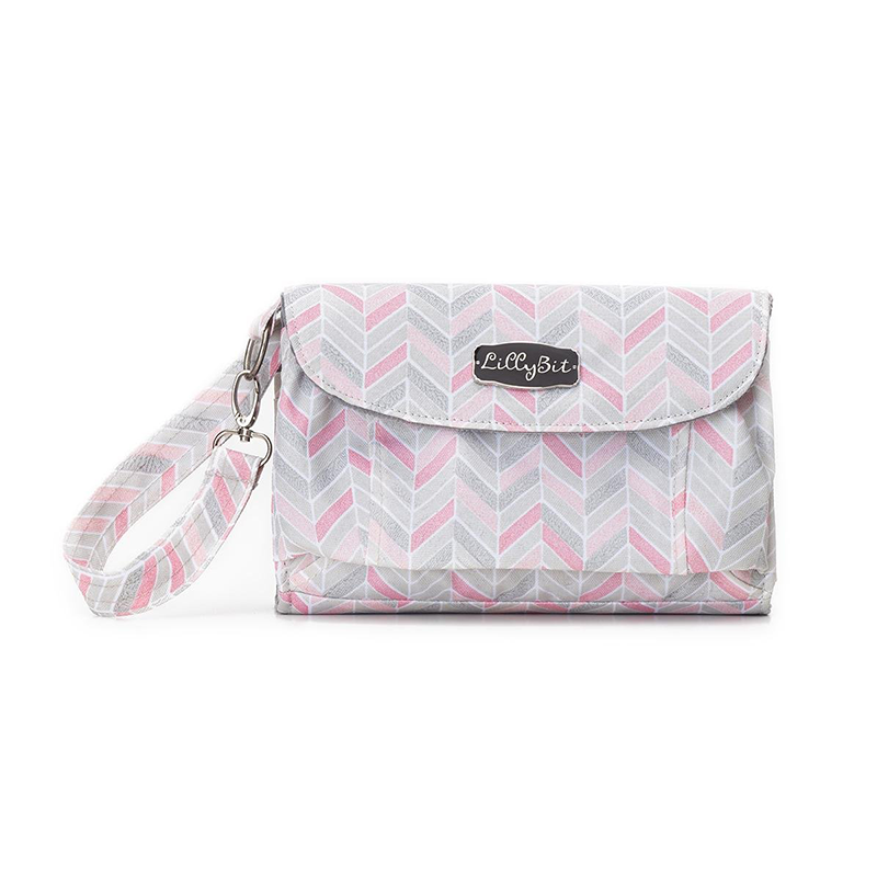 Lillybit by Demdaco Diaper Clutch Bag