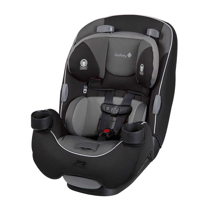 Safety 1st EverFit 3-in-1 Convertible Car Seat, Grey / Dark Grey